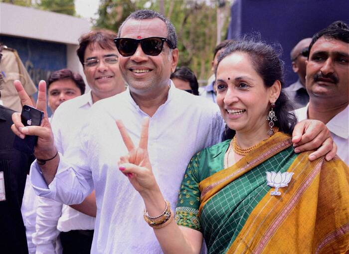 Paresh Rawal has won from Ahmedabad (East), Gujarat