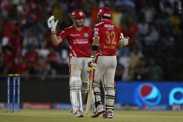 The Max-Miller partnership was worth 135 runs and it came off only 64 balls. (Photo: BCCI/IPL)