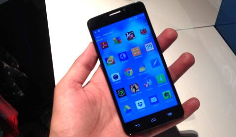 Alcatel One touch IDOL X+ at launch event, New Delhi