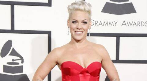 Pink previously revealed that she wanted a big family with Hart. (AP Photo)