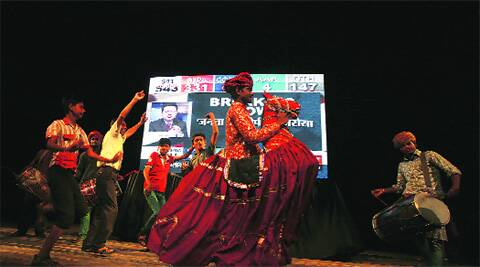 Celebrations on at Shah Auditorium, Civil Lines.  ( Source photo by Amit Mehra )