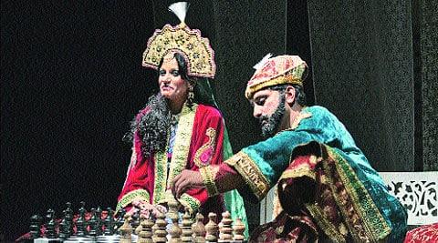 A scene from Shah Jahan-o-Mumtaz.