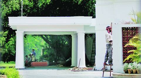 Renovation work at the PM's residence.	PRAVEEN KHANNA