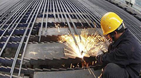 HSBC Manufacturing Purchasing Managers' Index (PMI) for Indian factories was at 51.3 in April, identical with the March level. (Reuters)
