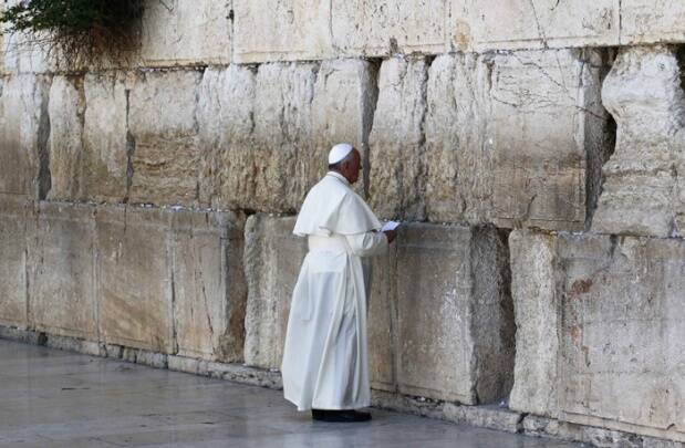 Pope Francis visits third holiest site in Islam, Al-Aqsa mosque in Jerusalem