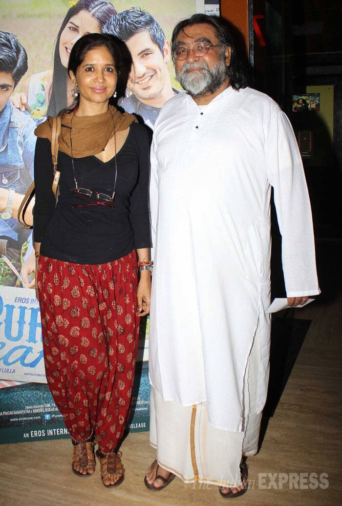 Ad Guru Prahlad Kakkar was accompanied by his wife Mitali. (Photo: Varinder Chawla)