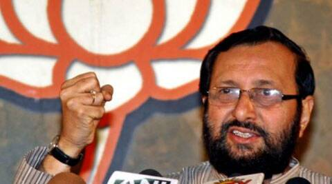 """Javadekar suggested that the approach of his predecessors in the ministry had caused a """"loss of face"""" to the nation as it was seen as """"speedbraker"""" to development and foreign investors had started leaving the country. (Source: PTI)"""