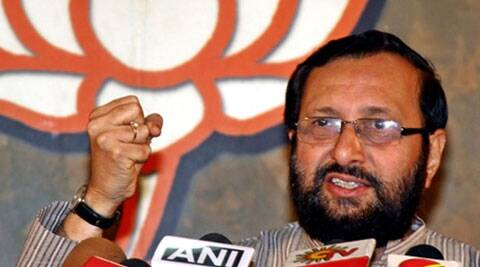 """This is not a government action,"" Javadekar said told reporters here. (Source: PTI)"