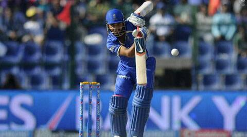 Ajinkya Rahane is Rajasthan Royals' in-form batsman and top scorer with 224 runs (Photo: BCCI/IPL)