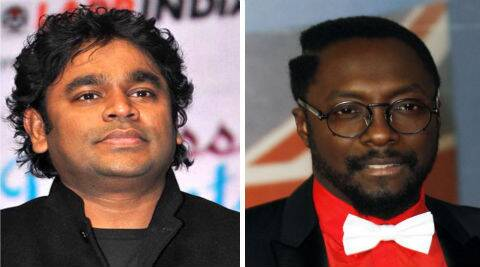 Will.i.am posted his thanks to A R Rahman on social networking site Twitter.