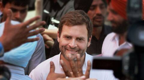 Rahul Gandhi In Kolkata on Thursday.