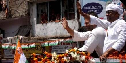 Rahul Gandhi's show of strength in Varanasi