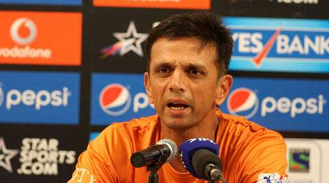 Dravid made the comments at Lord's before taking to he ground for the MCC vs Rest of the World match. (Source: IPL/BCCI)