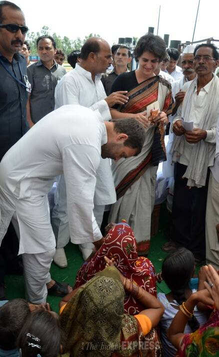 Rahul Gandhi, Priyanka Vadra's first visit to Amethi post poll debacle