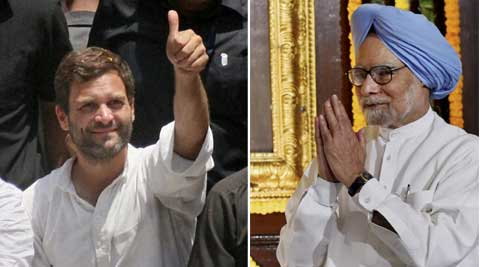 Rahul Gandhi on Wednesday skipped farewell dinner of PM Manmohan Singh.