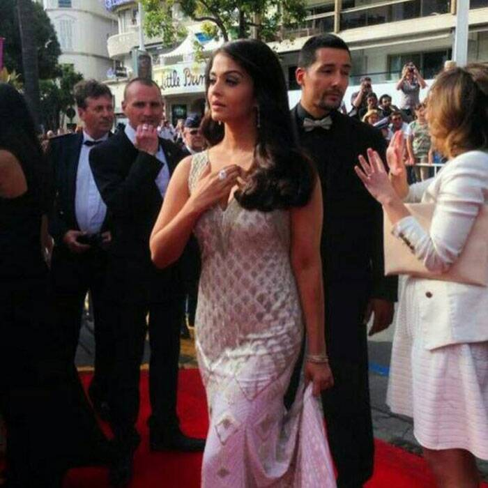 At Cannes 2014, Aishwarya Rai Bachchan is a white beauty after her 'golden' moment