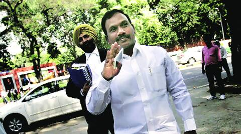 A Raja at the Patiala House Court Monday.  PRAVEEN KHANNA