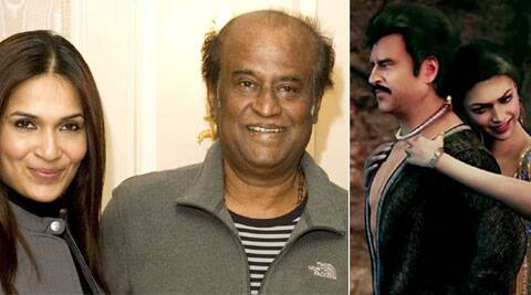 The legendary actor Rajinikanth took to Twitter to wish his daughter.