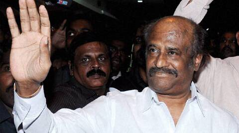 The shooting for the film is going on in full swing at Ramoji Film city since this morning with Rajinikanth and it will go on till evening. The 63-year-old actor looked fresh and fit in a get-up of a young man while shooting scenes for the movie.