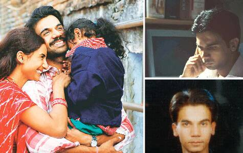 Everyman's hero Rajkummar plays the lead in Hansal  Mehta's Citylights (Left) after a National Award-winning performance in Shahid (right above); and (right below) from the family album, a young Rajkummar in Class X