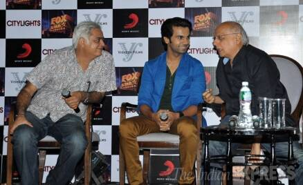 Rajkummar Rao 'Lights the City' with Mahesh Bhatt, Hansal Mehta