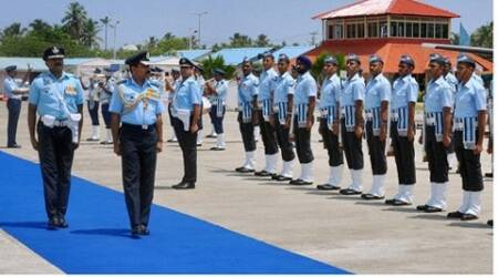 Raha focused on various challenges before the IAF in the coming years and the undergoing capability building through modernisation and acquisitions. (Source: PTI)