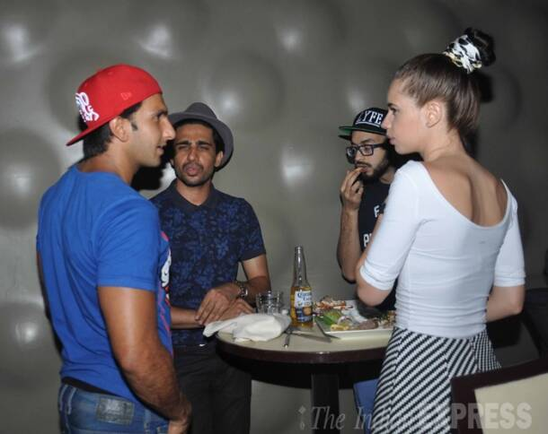 What's cooking between Deepika Padukone's beau Ranveer Singh and Kalki Koechlin?