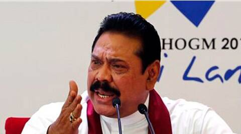 Sri Lankan President Mahinda Rajapaksa thanked Narendra Modi for extending an invitation to him. (Express Archive)