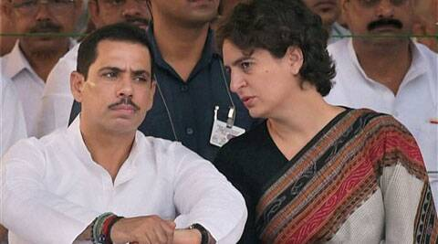Robert Vadra and Priyanka Gandhi.