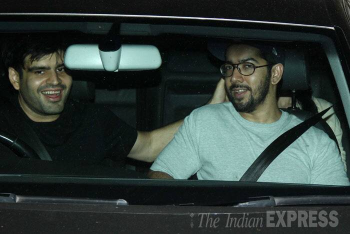 Varun's brother, director Rohit Dhawan also made it to the screening. (Photo: Varinder Chawla)