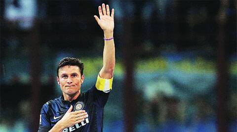 Zanetti joined Inter in 1995. reuters