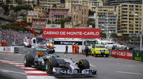 Nico Rosberg won the Monaco Grand Prix for the second year in a row on Sunday to snatch back the Formula One world championship lead. (Source: Reuters)