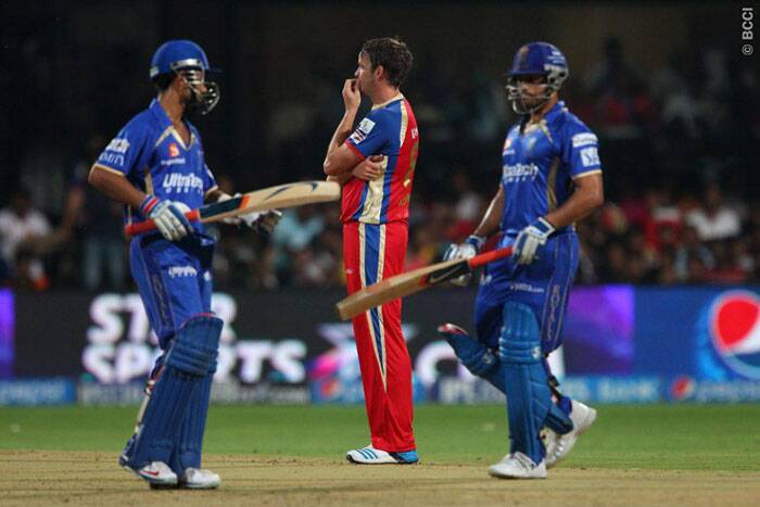 Rajasthan openers started off watchfully and put on 50 runs for the first wicket from 40 balls. (Photo: BCCI/IPL)