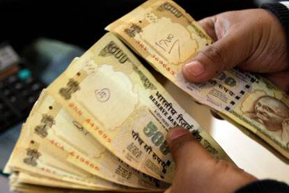 The Indian rupee rose 50 paise to 58.79 to end at 11-month high against the dollar on Friday.
