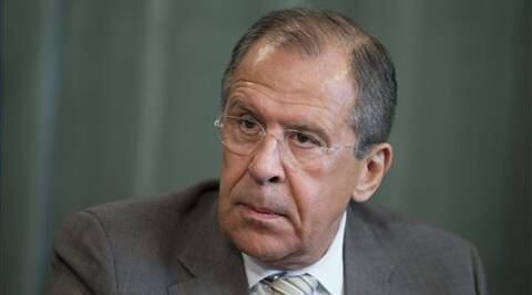 Lavrov, above, was highly sceptical of the peace plan of Ukrainian President Petro Poroshenko.