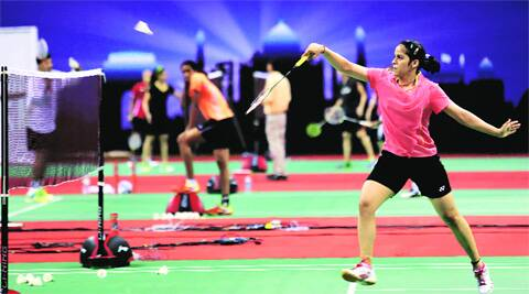 Saina Nehwal had defeated Wong Mew Choo of Malaysia in a thrilling final during the 2010 Commonwealth Games (Source: Express Photo by Ravi Kanojia)