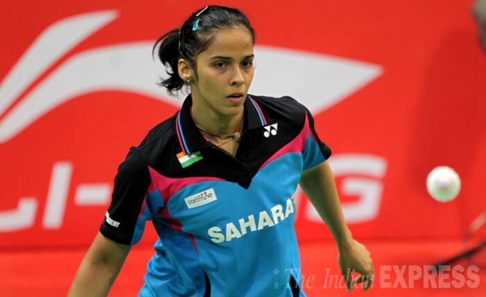 "Saina Nehwal gave her team a positive start after notching up a 21-4 21-12 win over Joycelyn Ko in 25 minutes in the first singles at the Siri Fort Complex in New Delhi. <br /><br /> ""I think still there are lots of tough matches ahead which I have to play. There is Hong Kong tomorrow. I have lost few matches recently so the confidence is still lacking. But I have seen some difference in my game when I played today. I could see my strokes have improved after the training,"" Saina told reporters after the match. <br /><br /> Saina Nehwal of India in action against Ko Joycelyn of Canada during women singles. (Source: Express photo by Ravi Kanojia)"