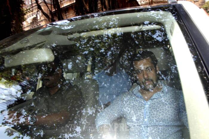 "Salman Khan is facing the charge of running over five people sleeping on a footpath outside a bakery in suburban Bandra on September 28, 2002, killing one and injuring four others. He was driving a Toyota Land Cruiser. (Photo: Varinder Chawla)<br /><br /> <a href=""http://indianexpress.com/article/entertainment/bollywood/2002-hit-and-run-case-two-witnesses-identify-salman-khan-in-court/"" title=""2002 hit-and-run case: Two witnesses identify Salman Khan"">Read full story here</a> <br /><br /> Ahead: Salman Khan's mother Salma Khan support the CODS cause"