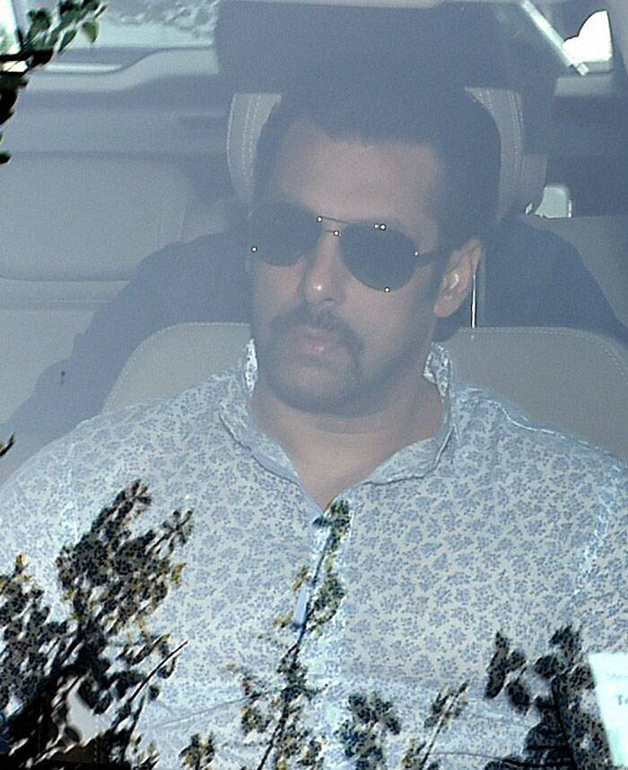 Salman Khan had allegedly run over his Toyota Land Cruiser on a group of persons sleeping on a footpath outside a bakery in suburban Bandra, killing one and injuring four others, on September 28, 2002. (PTI)