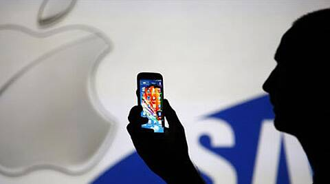 Apple has accused Samsung of violating patents on smartphone features including universal search, while Samsung denied wrongdoing. (Reuters)