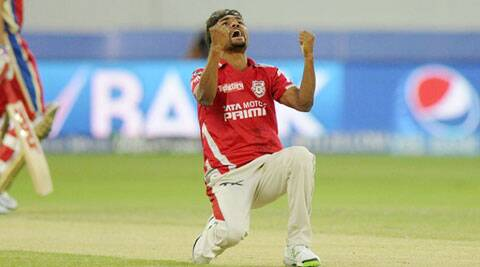Sandeep Sharma has taken 10 wickets in the five IPL 7 matches he has played so far (Photo: BCCI/IPL)