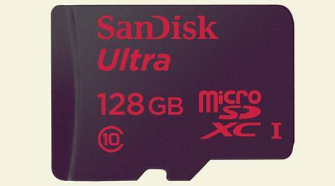 The SanDisk Ultra microSDXC UHS-I memory card (128GB) will cost Rs 9,999.
