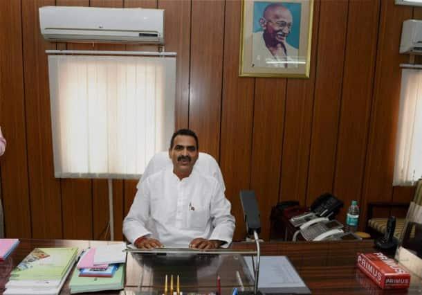 Sushma Swaraj, M Venkaiah Naidu, Uma Bharti assume office