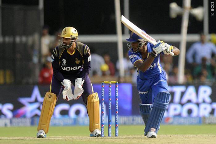 Sanju Samson also chipped in with an important 37-run innings in the middle overs for Rajasthan. (Photo: BCCI/IPL)