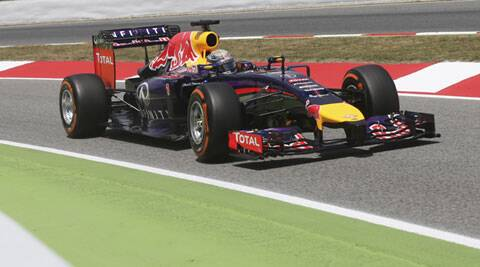 Team principal Christian Horner said after Sunday's race that it looked like the Vettel of old was returning (AP)