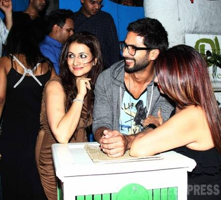 Shahid Kapoor's night out with Sonam Kapoor's cousin Mohit Marwah