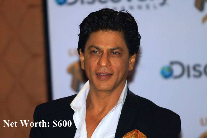 Bollywood superstar Shah Rukh Khan is the lone Indian celebrity to make it to a list of the top 10 wealthiest Hollywood and Bollywood personalities by beating stars like Tom Cruise and Johnny Depp. <br />The 48-year-old actor, who is the owner of an IPL team and acted in more than 50 Bollywood films, has come second on the Wealth-X's list with an estimated fortune of $600 million. (Source: AP)