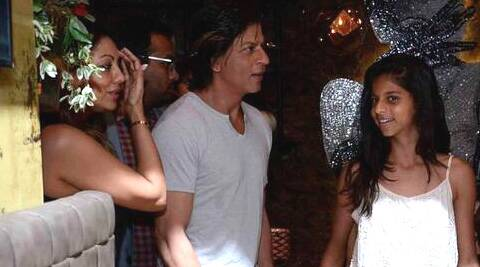 "SRK, wishing Suhana birthday said, ""Thank u Allah for giving me, the gentlest, most beautiful reason to smile."""