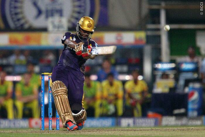 After the openers were back in the hut for Kolkata, Shakib-al-Hasan stole the show with a 21-ball 46 to take his team home. (Photo: BCCI/IPL)