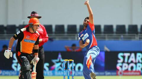 Delhi Daredevils pacer Mohammed Shami finds bowling with India teammate Bhuvaneshwar Kumar a tad easier than bowling in IPL. (BCCI/IPL)
